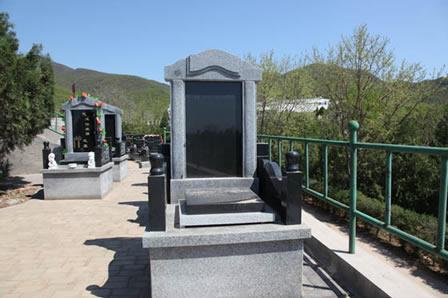 北京昌平炎黄陵园墓型展示-11
