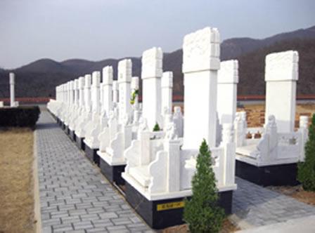 北京昌平炎黄陵园墓型展示-14