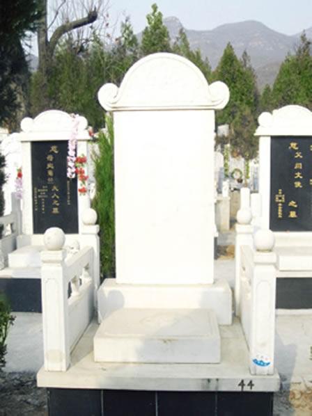 北京昌平炎黄陵园墓型展示-09