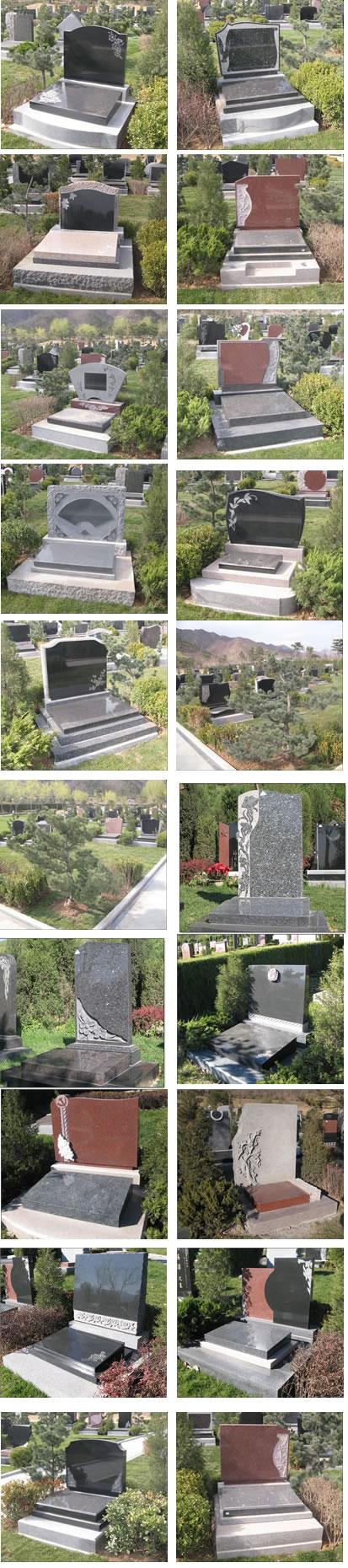 天寿园军魂区和方舟区艺术墓碑-003